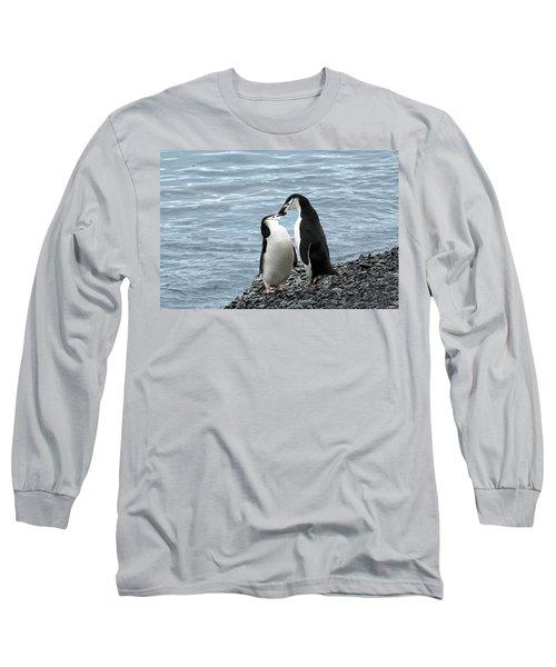 Kiss Me You Fool Long Sleeve T-Shirt
