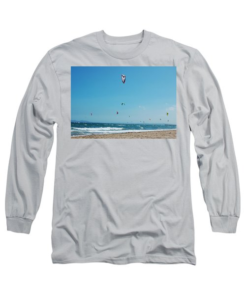 Kitesurf Lovers Long Sleeve T-Shirt