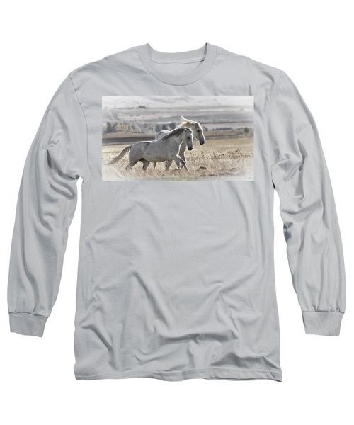 Knee Deep Long Sleeve T-Shirt by Wes and Dotty Weber