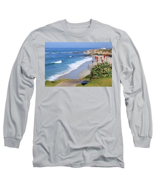 La Jolla Beach Long Sleeve T-Shirt