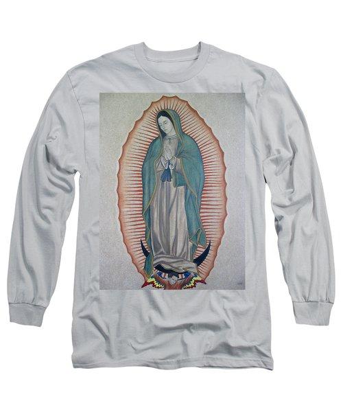 La Virgen De Guadalupe Long Sleeve T-Shirt