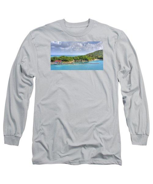Labadee Long Sleeve T-Shirt by Shelley Neff