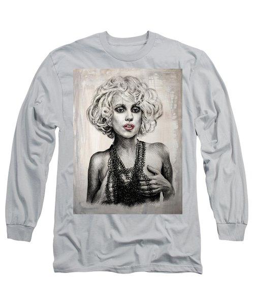 Lady Gaga Long Sleeve T-Shirt