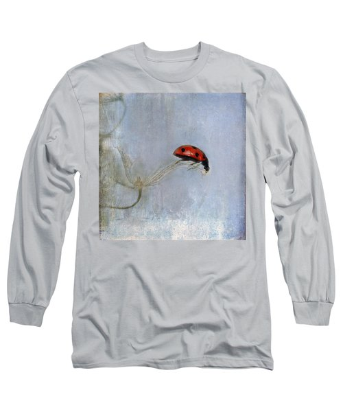 Lady In Red Long Sleeve T-Shirt