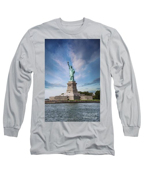 Lady Liberty Long Sleeve T-Shirt by Juli Scalzi