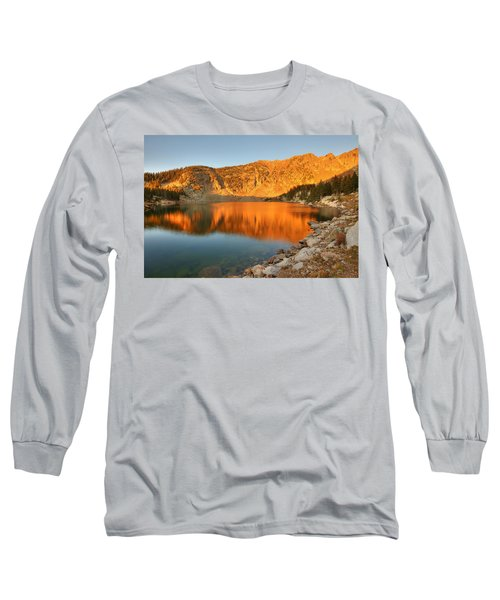 Lake Katherine Sunrise Long Sleeve T-Shirt