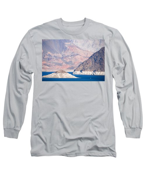 Long Sleeve T-Shirt featuring the photograph Lake Mead National Recreation Area by John Schneider