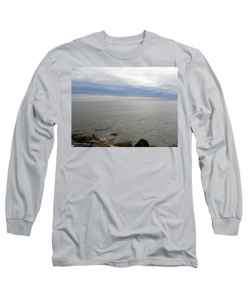 Lake Michigan 3 Long Sleeve T-Shirt by Verana Stark