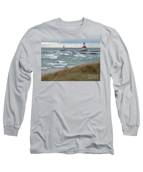 Lake Michigan Winds Long Sleeve T-Shirt