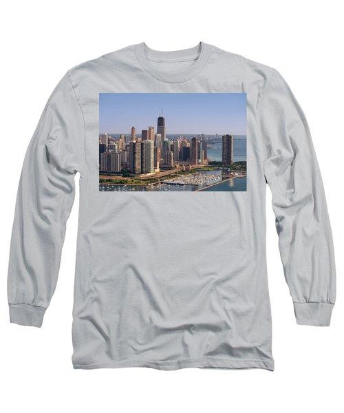 Lake Shore Drive Curve Chicago Long Sleeve T-Shirt