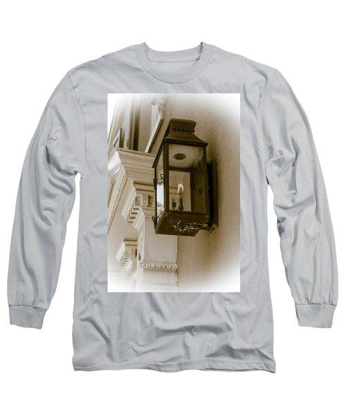 Long Sleeve T-Shirt featuring the photograph Lamp Unto My Feet by Sennie Pierson