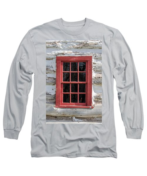 Landow Cabin Window Long Sleeve T-Shirt