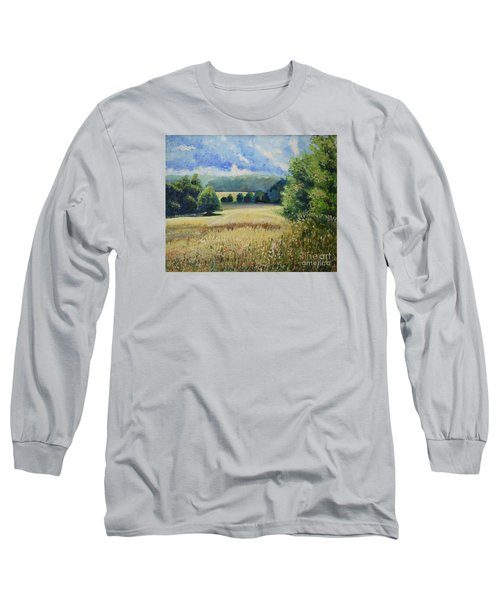 Landscape Near Russian Border Long Sleeve T-Shirt