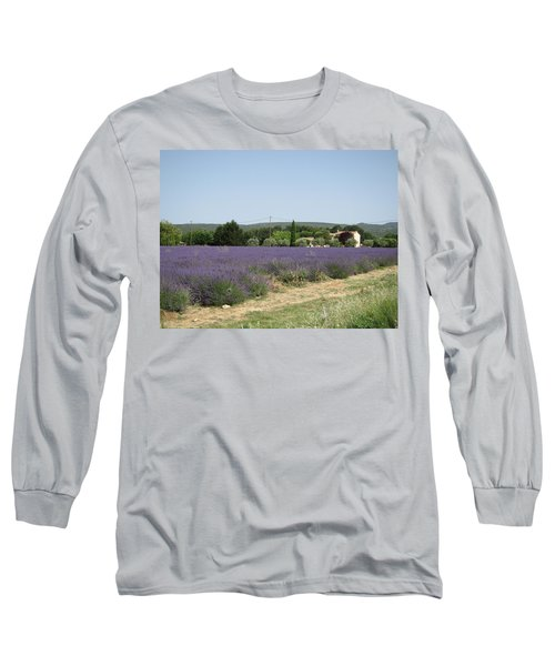 Lavender Farm Long Sleeve T-Shirt