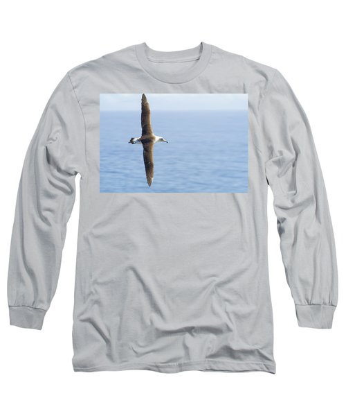 Laysan Albatross No 1 - Kilauea - Kauai - Hawaii Long Sleeve T-Shirt