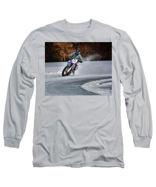 Leader O' Da Pack Long Sleeve T-Shirt by Robert McCubbin