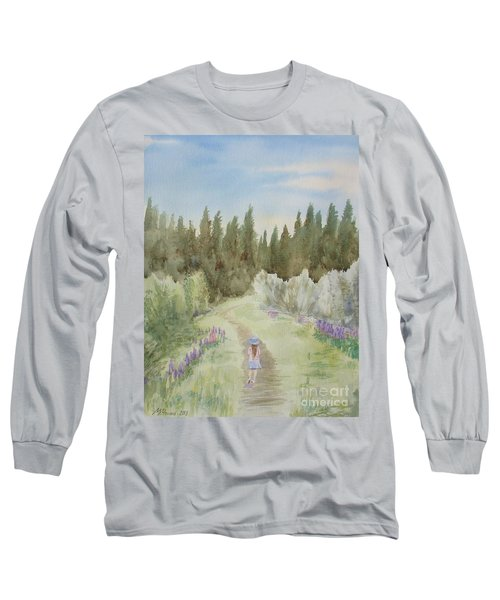 Leading The Way Long Sleeve T-Shirt by Martin Howard