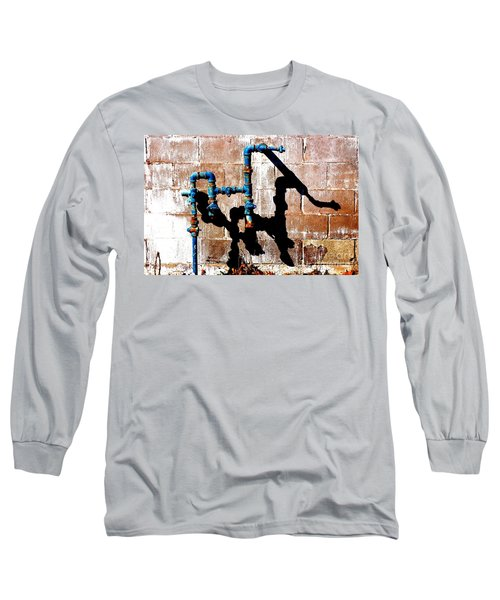 Long Sleeve T-Shirt featuring the photograph Leaky Faucet II by Christiane Hellner-OBrien
