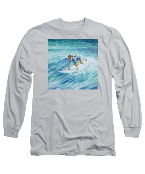 Learning To Fly Long Sleeve T-Shirt by William Love