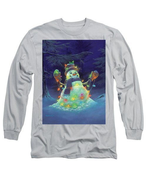 Let It Glow Long Sleeve T-Shirt by Michael Humphries