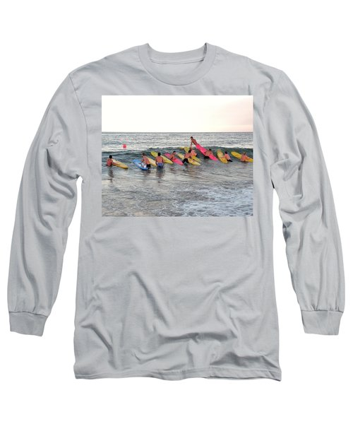 Lifeguard Competition Long Sleeve T-Shirt