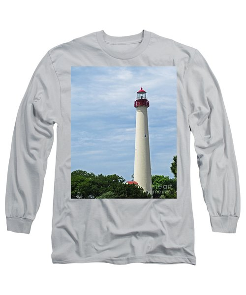 Light House At Cape May Nj Long Sleeve T-Shirt