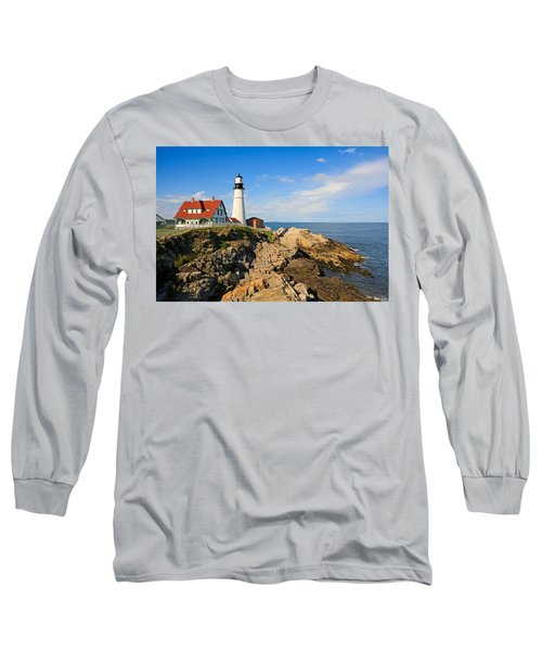 Lighthouse In The Sun Long Sleeve T-Shirt