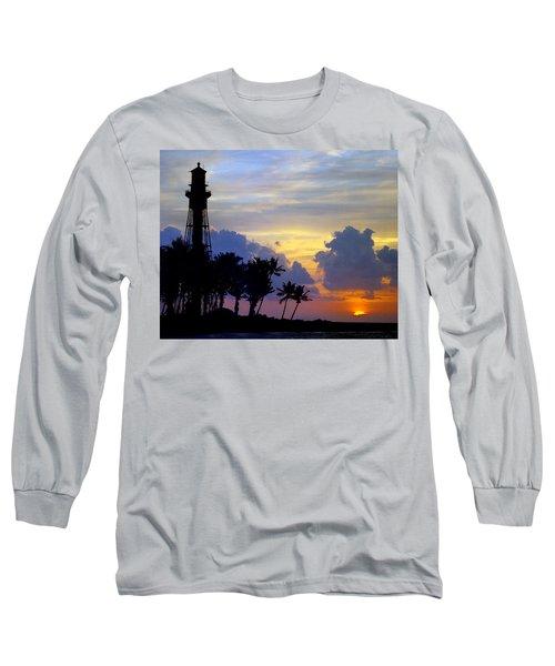 Lighthouse Point Sunrise 2 Long Sleeve T-Shirt