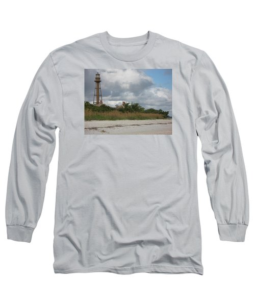 Long Sleeve T-Shirt featuring the photograph Sanibel Island Light by Christiane Schulze Art And Photography