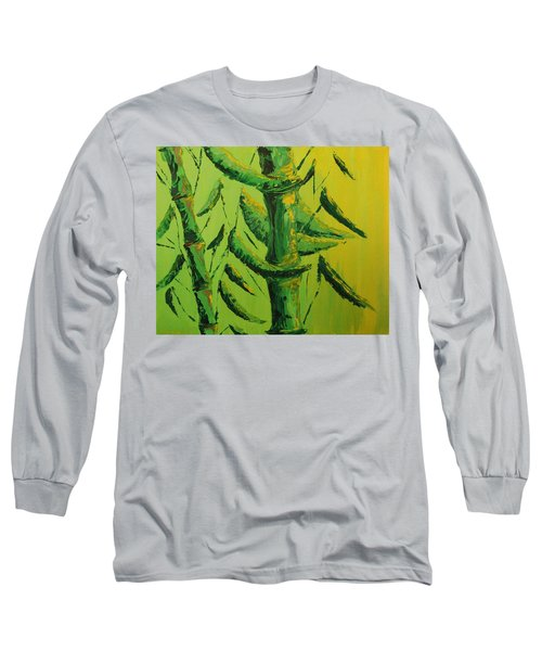 Lively Lime Bamboo Long Sleeve T-Shirt