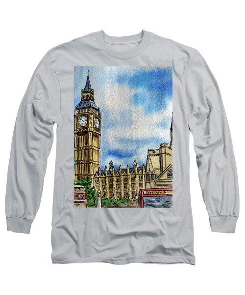 London England Big Ben Long Sleeve T-Shirt