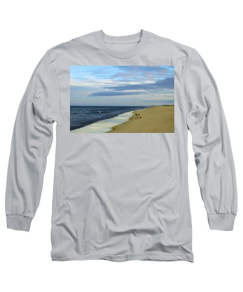 Lonely Cape Cod Beach Long Sleeve T-Shirt