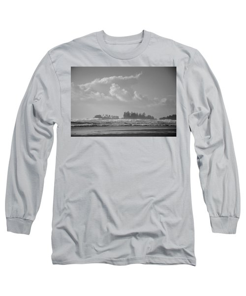 Long Beach Landscape  Long Sleeve T-Shirt
