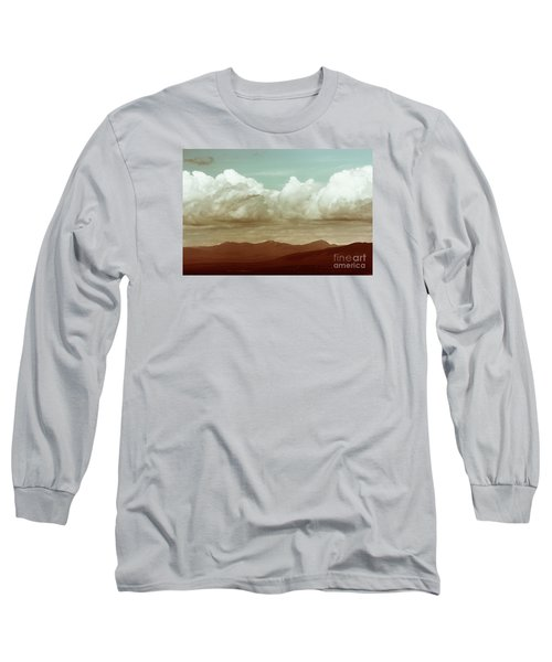 Long Sleeve T-Shirt featuring the photograph Long Horizon by Dana DiPasquale
