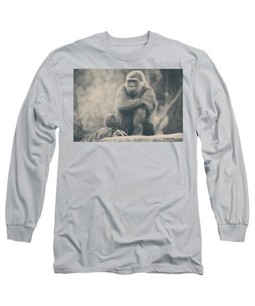 Looking So Sad Long Sleeve T-Shirt