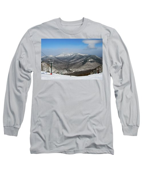 Loon Mountain Ski Resort White Mountains Lincoln Nh Long Sleeve T-Shirt