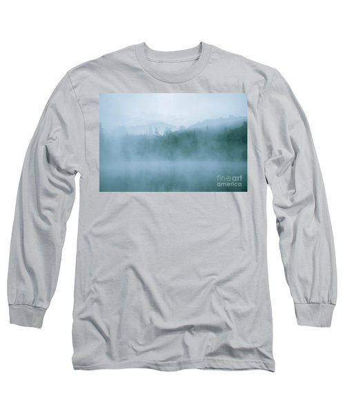 Lost In Fog Over Lake Long Sleeve T-Shirt