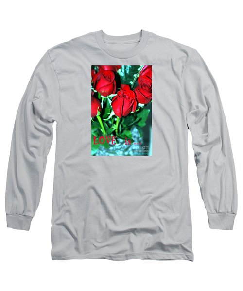 Love Is... Collection. Delightful Long Sleeve T-Shirt