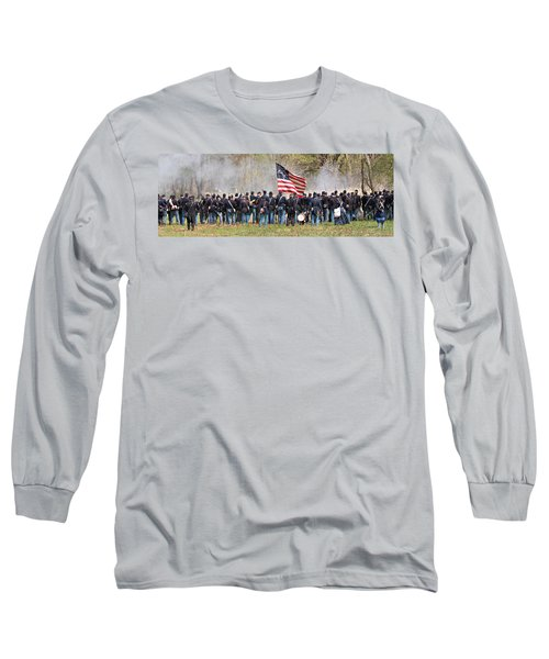 Lovely Flag Long Sleeve T-Shirt by Alice Gipson