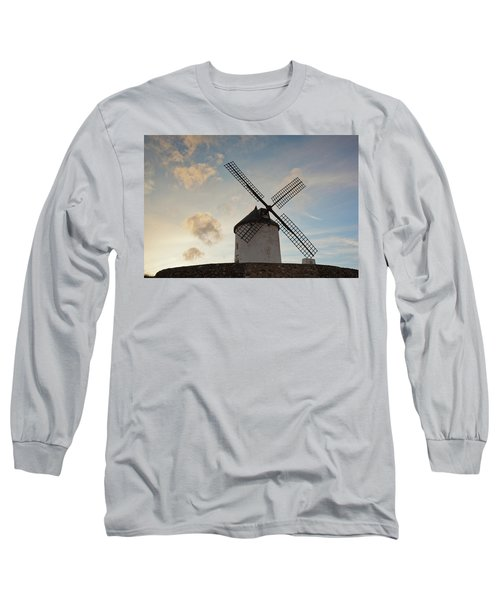 Low Angle View Of A Traditional Long Sleeve T-Shirt
