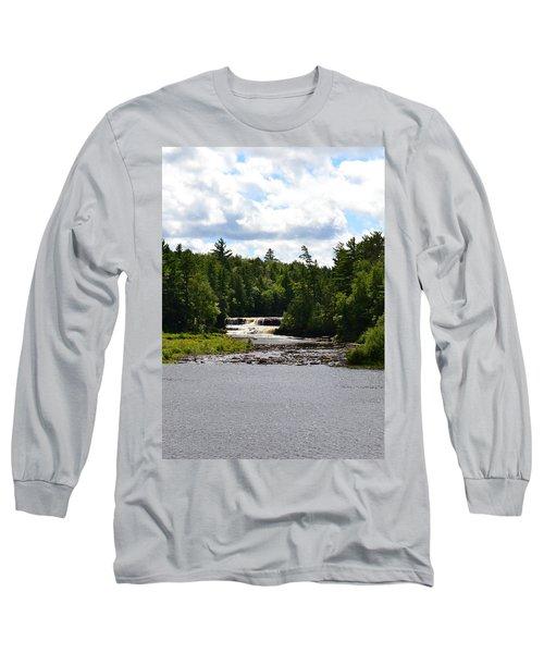 Lower Tahquamenon Falls L Long Sleeve T-Shirt