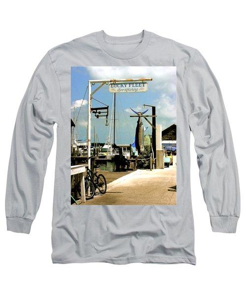Lucky Fleet Key West  Long Sleeve T-Shirt