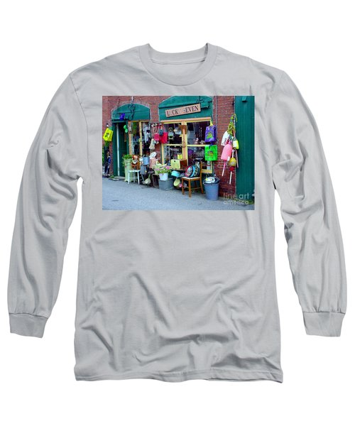 Lucky Seven Long Sleeve T-Shirt by Kevin Fortier