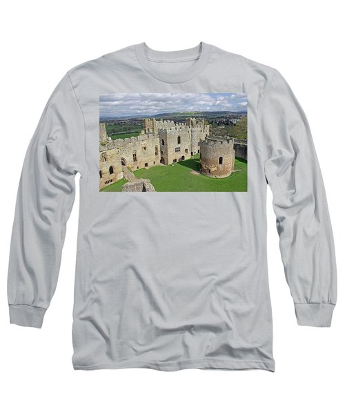 Ludlow Castle Chapel And Great Hall Long Sleeve T-Shirt
