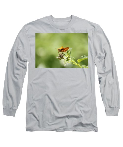 Long Sleeve T-Shirt featuring the photograph Lunch Time by Amy Gallagher
