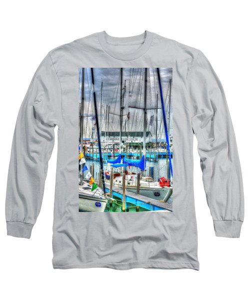 Mackinac Island Harbor Long Sleeve T-Shirt