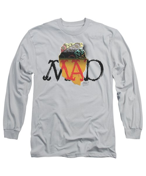 Mad - Torn Logo Long Sleeve T-Shirt