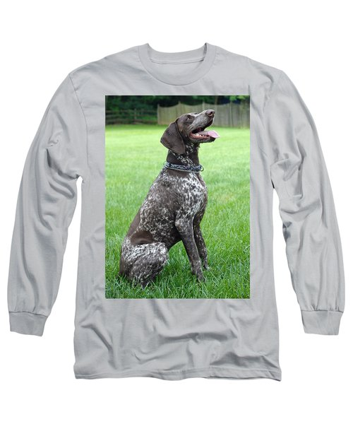 Long Sleeve T-Shirt featuring the photograph Maggie by Lisa Phillips