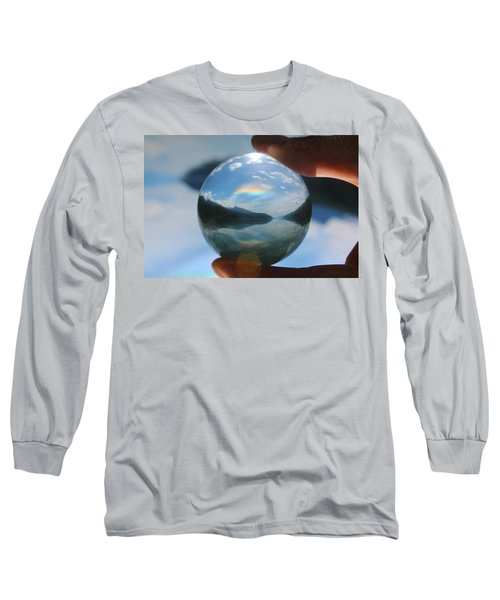 Magic In The Air Long Sleeve T-Shirt by Cathie Douglas