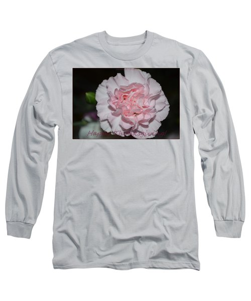 Magnetic Pink Long Sleeve T-Shirt